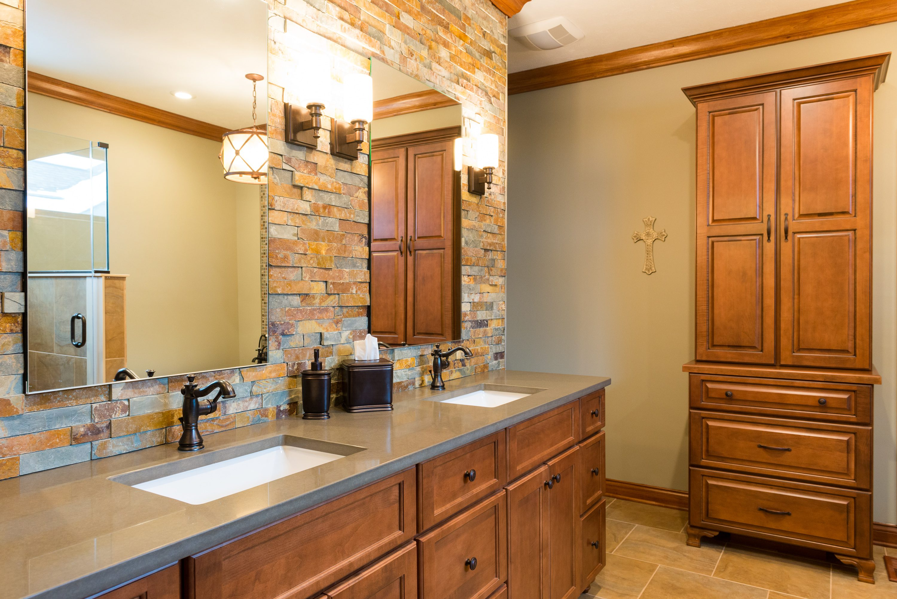 Re Tile Bathroom 8 Swoon Worthy Bathrooms To Inspire Your Next Remodel Case Indy