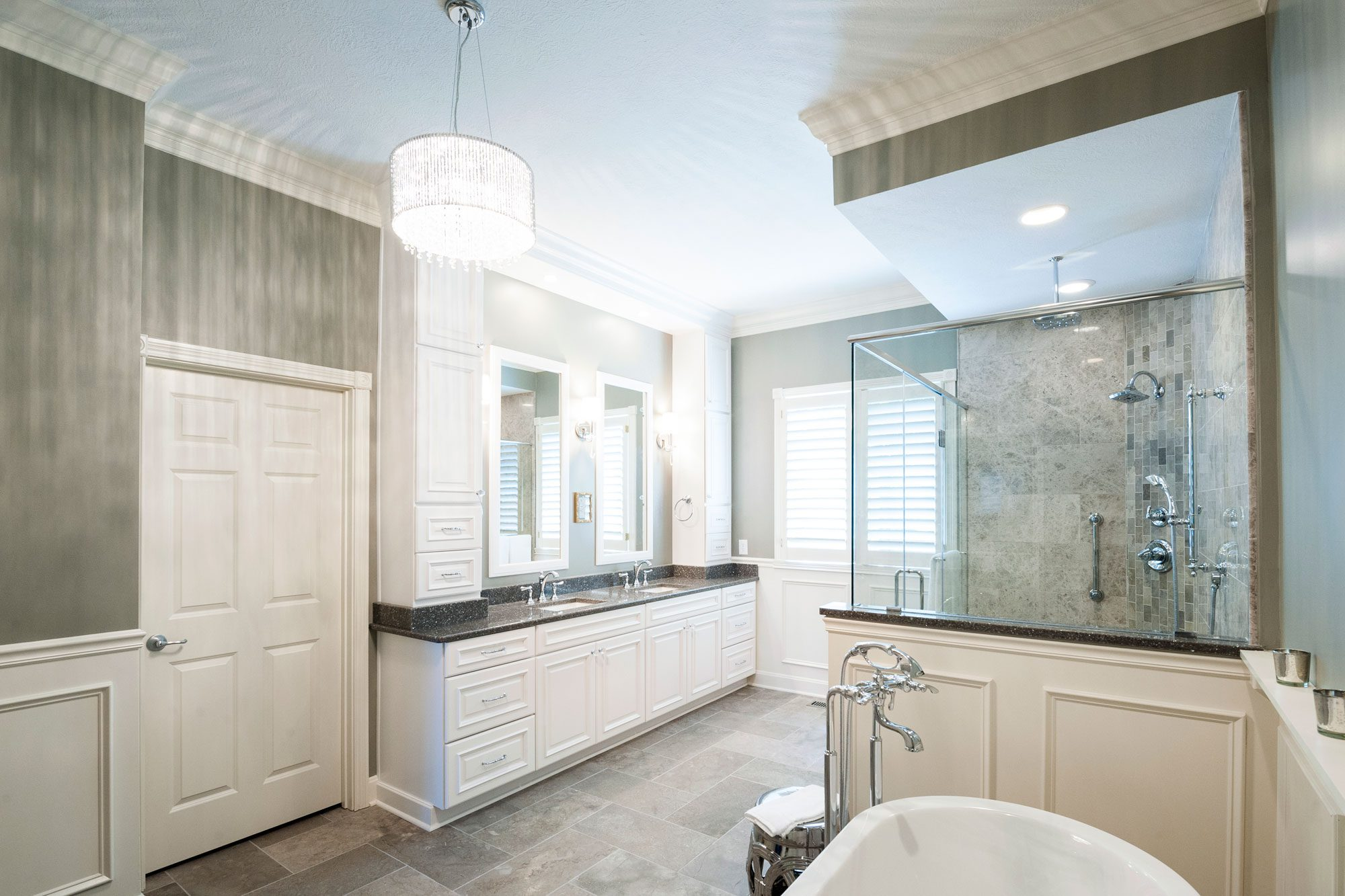 Master Bathroom Remodel that Stands Test of Time   Case Indy