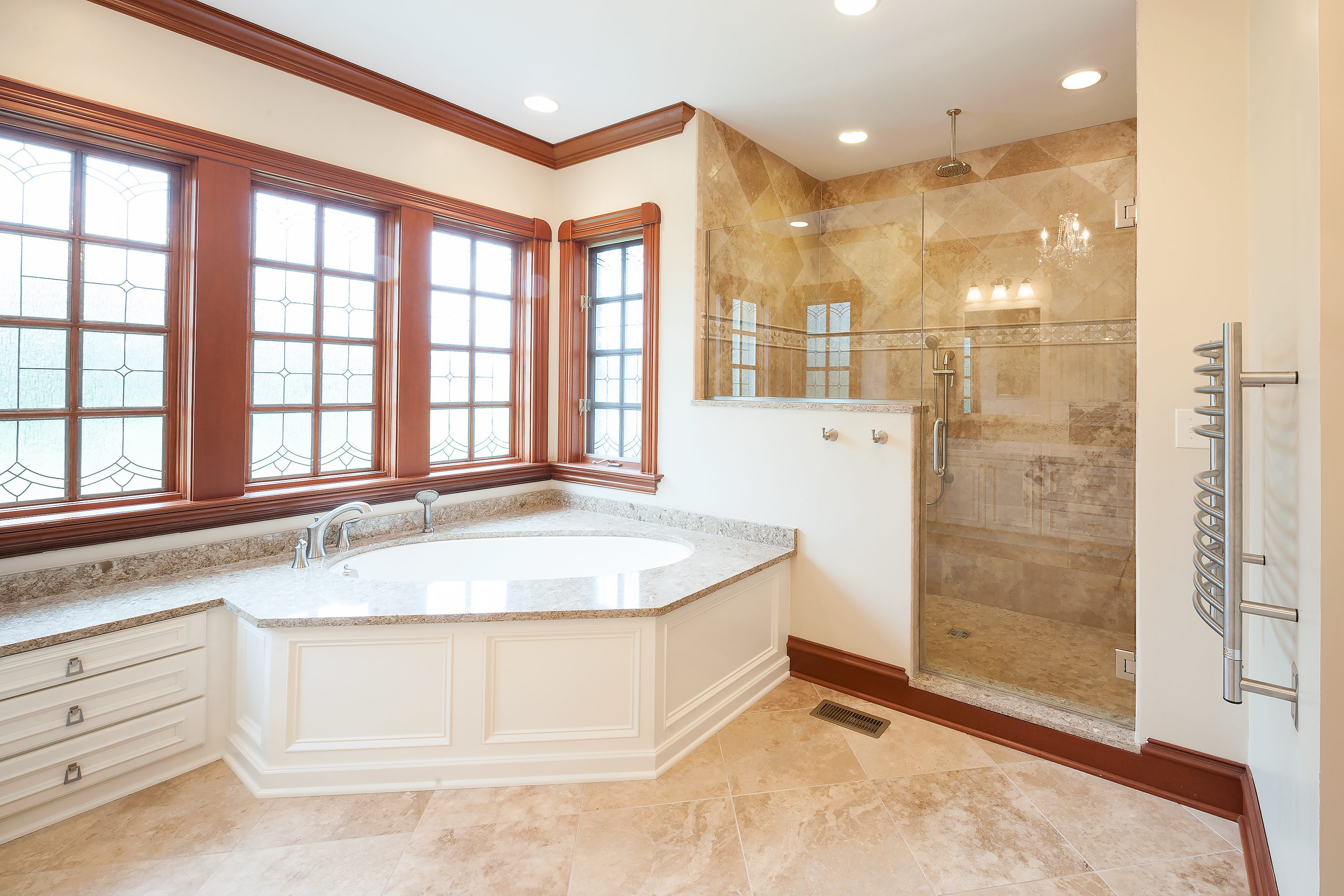 Cool Updated Look For A Traditional Master Bath Case Indy Download Free Architecture Designs Xaembritishbridgeorg