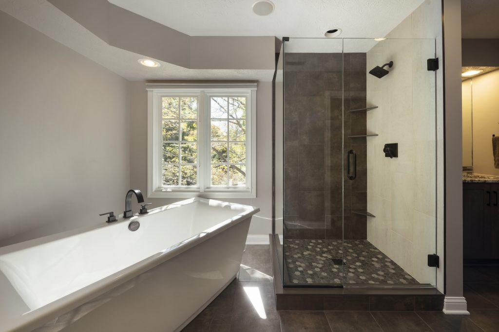 Tips for remodeling on a budget case indy for Total bathroom remodel