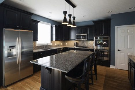 Rtansitional Designs Kitchen